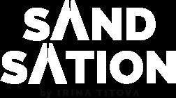 Sandsation by Irina Titova Logo